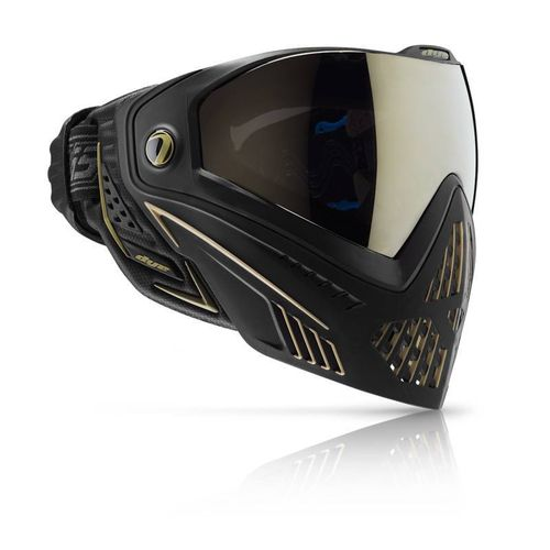 PAINTBALL MASKE - DYE i5  SCHWARZ GOLD
